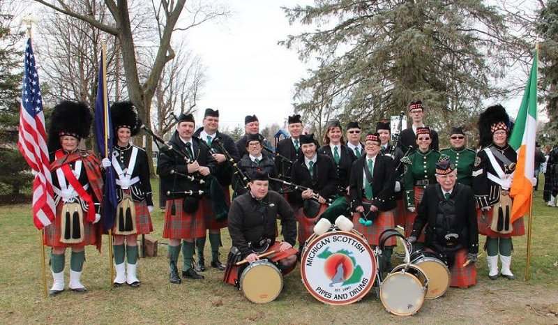Michigan Scottish Pipes and Drums