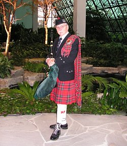 Pipe Major William O'Donnell